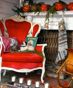 NIce Santa chair