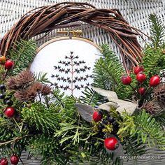 Twelve (Embroidered) Trees for Christmas! – NeedlenThread.com