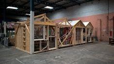 La Fabrique d'architecture(s) Bricolée - Les Saprophytes Carpeaux, Loft, How To Plan, Architecture, Bed, Furniture, Home Decor, Art, Arquitetura