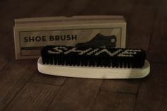 Gentlemans gear from The House Of machines - Shoe Brush