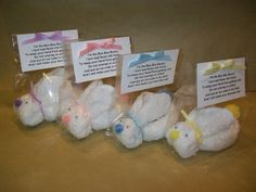 Boo Boo Bunny with Ice Cube and Poem by dawnstreasures on Etsy, $3.00