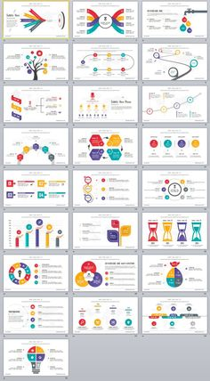 25+ Charts Infographics PowerPoint templates