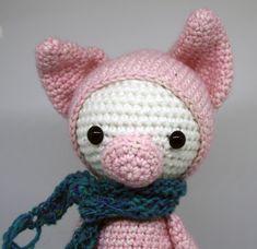 Fridolin das Ferkel von PIDesignStore auf Etsy Hello Kitty, Wool, Cotton, Etsy, Design, Piglets, Washing Machine, Handarbeit