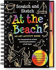 Childrens Kids Craft Kit Holographic scratch Art  Unicorn Dinosaur Butterfly sea