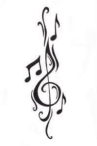 I want this on my spine right under the tattoo I already have that goes across my spine. I want this for doing 9 years in orchestra.