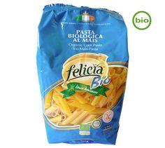 Molino Andriani FELICIA BIO Mais Penne Rigate, 500g - LEBENSMITTEL Teigwaren, Pasta & Pizza - ALLES-VEGETARISCH.DE