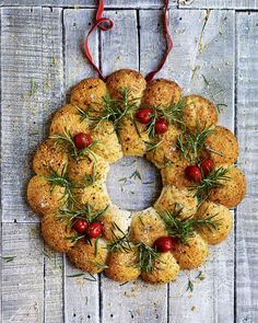 A festive showstopper made of the softest, most tempting bread. This recipe is best made on the day and warmed through before serving.