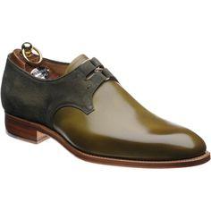 Herring Bilbao two-tone Derby shoe