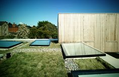 mccullough mulvin architects builds z square house in irish back yard