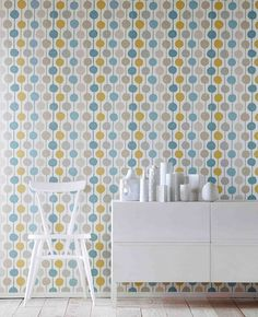 Almeda | I love the 70s | Wallpaper patterns | Wallpaper from the 70s