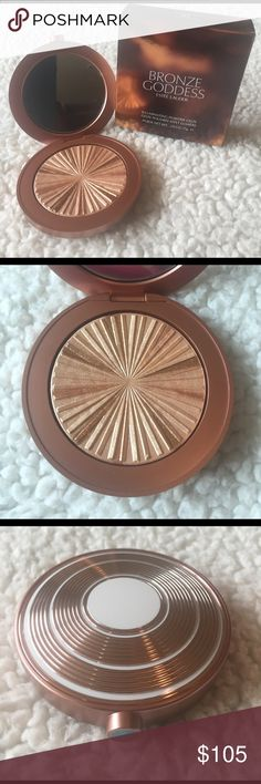 """🌺NEW! ESTÉE (SOLD OUT) BRONZE GODDESS POWDER BRAND NEW! AUTHENTIC ESTÉE LAUDER BRONZE GODDESS """"HEATWAVE"""" ILLUMINATING POWDER GELEE-NEVER USED OR SWATCHED!! EXCELLENT NEW CONDITION!!  ****SOLD OUT IN STORES**** Estee Lauder Makeup Bronzer"""