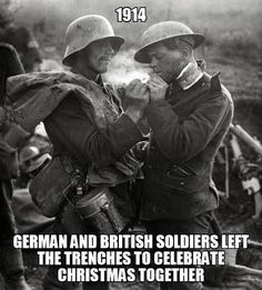 Sometimes History Can Inspire, faith in humanity restored..