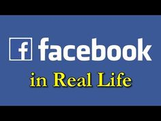 Facebook In Real Life - #Comedy #Funny #Lol #Relatable #Facebook