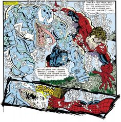 Venom vs Spider-Man (from ASM #347)
