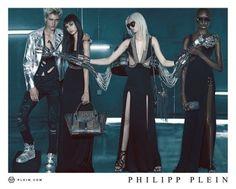 Philipp Plein Goes Punk for Spring Ads Featuring Hailey Baldwin