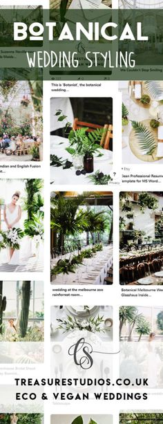 I want to share some of my favourite styling options starting with this one: Botanical Wedding Styling. Just think of it. The simplicity of deep, emerald greenery and taking your guests into a candle-lit orangery honestly makes my heart flutter. Wedding Stationery, Wedding Invitations, Melbourne Zoo, Wedding Styles, Wedding Ideas, My Love Story, Heart Flutter, Botanical Wedding, Earthy