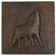 Copper Tile (TL331) Coyote Design