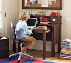 Pottery Barn Kids - Riley desk & hutch
