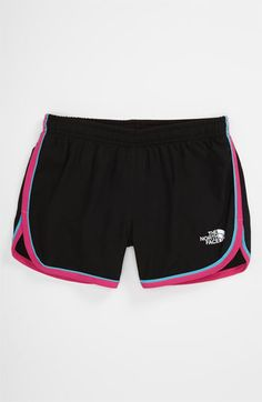 The North Face 'Velocitee' Shorts (Little Girls & Big Girls) available at Nordstrom