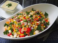 #GoAutentico #ad #SoCu Solterito is a Peruvian salad that is perfect for eating al fresco during the summer months. The basic recipe is cheap, quick, and easy to…