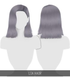 Hairstyles: Lia Hairstyle from Simpliciaty Los Sims 4 Mods, Sims 4 Game Mods, Sims 4 Cc Kids Clothing, Sims 4 Mods Clothes, Sims 4 Cas, Sims Cc, Sims 4 Cc Folder, Maxis, Mod Hair