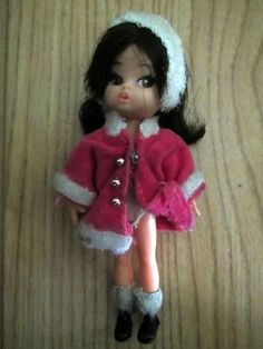 Vintage 1967 British Palitoy Dolly Darling ~ SLEIGH RIDE ~ Hasbro RARE