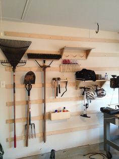 Garage shop upgrades 3 hangars shelves and boxes by channeleaton @ lumberjocks com woodworking community Woodworking Logo, Woodworking Joints, Woodworking Workbench, Woodworking Furniture, Woodworking Projects, Woodworking Techniques, Cardboard Furniture, Woodworking Machinery, Woodworking Classes