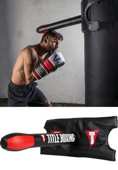 Title Boxing Heavy Bag Slip Stick Helps You Master Slipping Punches Leg Workouts For Men, Fun Workouts, Diy Gym Equipment, No Equipment Workout, Muay Thai, Jiu Jitsu, Boxe Fight, Karate, Fight Gym