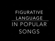 (22) Simile, Metaphor, Hyperbole, Personification, Onomatopoeia, and Idioms in Popular Songs - YouTube