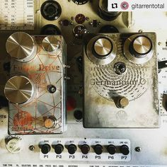 #Repost @gitarrentotal  @greuteraudio Pedals are now available with custom etched enclosures! Each pedal is unique. @pedalboardmadness @effectsdatabase #effectpedals #pedalboard #fuzz #industrialdesign