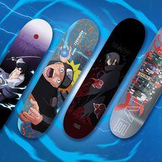 Skate Primitive x Naruto Primitive Skate Skate 3, Skate Decks, Skate Style, Skate Park, Skateboard Deck Art, Skateboard Design, Skateboard Girl, Custom Skateboards, Cool Skateboards