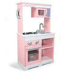 Kidkraft silver retro play kitchen by kidkraft - Kidkraft espana ...