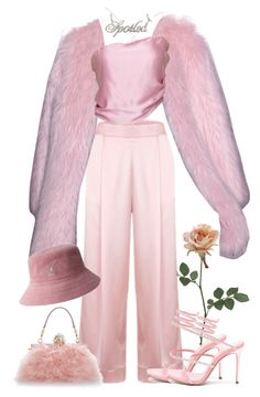 """""""Pink panther"""" by stylebylolo ❤ liked on Polyvore featuring Georgia Alice, René Caovilla, Dolce&Gabbana and kangol"""
