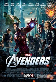 The Avengers Theatrical One Sheet Movie Poster