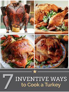 7 Inventive Ways to Cook a Turkey | thegoodstuff