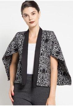 Wanita > Pakaian > Outerwear > Blazer > Mega Mendung Outer > Batik Suryamas