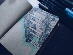 #ruin #history #skech #drawing