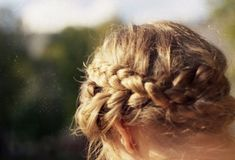 Pretty braided headband.
