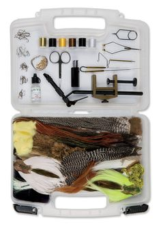 Just found this Fly-Tying Kit for Beginners - Orvis Fly-Tying Kit with Manual -- Orvis on Orvis.com!