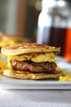 Pancake Breakfast Sandwich