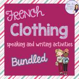 Mme R's French Resources Teaching Resources | Teachers Pay Teachers High School French, Teaching Grammar, Teaching Tools, Teaching Ideas, French Worksheets, French Outfit, Core French, French Resources, French Clothing
