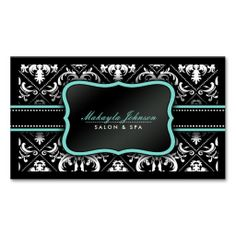 Spa or Massage Therapist Business Cards | SPA Business Card ...