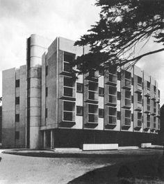 Wolfson Building, St. Anne's College, University of Oxford, England, 1964 Howell, Killick, Partridge, Amis
