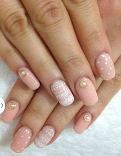 In this listing you will get 20 pcs of 3d nail art pearl nail charms.
