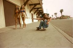 Venice and Huntington Beach boulevards, and suburban streets – all set against the Southern Californian sun.