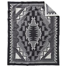 Shop for Pendleton Mary Henderson Weavers Series Throw. Get free delivery On EVERYTHING* Overstock - Your Online Fashion Bedding Store! Make Blanket, Wool Blanket, No Sleep Till Brooklyn, Most Comfortable Sheets, Online Bedding Stores, Cotton Texture, Affordable Bedding, Geometric Designs