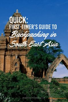 QUICK: First-timer's Guide to Backpacking in South East Asia There are a lot of countries in South East Asia that are full of amazing sights, sounds and people; Philippines; Malaysia, Indonesia but here we're sticking with the Thailand, Laos, Vietnam and Cambodia.