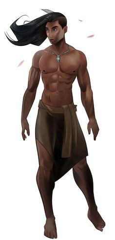 Pocahontas male version by MrRabLo on DeviantArt