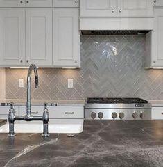 66 Trendy Ideas For Kitchen Backsplash Herringbone Shaker Cabinets