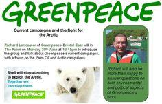 Greenpeace Talk at Triodos Bank   Greenpeace UK